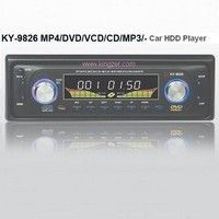 2.5-inch Car HDD Player with Remote Control, Supports MP3 and MP4  KY-9826