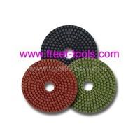 diamond flexible polishing pads