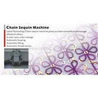 Multi color Chain Sequin Machine
