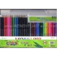 Water color pen and colorful pencil (stationery set)