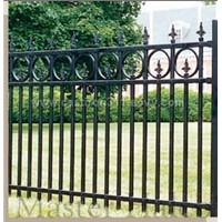Wrought Iron Driveway Fence