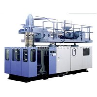 extrusiong and blow moulding machine