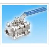 3pcs ball valve