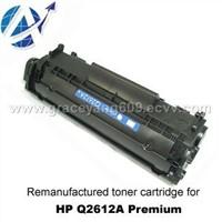 Remanufactured Toner Cartridge for HP Q2612A Premium