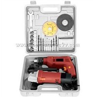 Drill and Angle Grinder Set (PS-CT201)