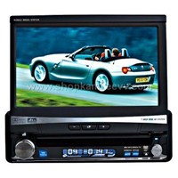7 inch Motorized Detechable Panel Car Audio Player With Touchscreen