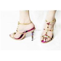 Shoes With Swarovski Crystal Jewel