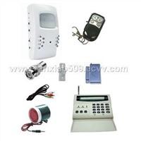 Wireless surveillance alarm system