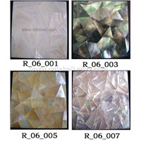 Bonded Joint Shell Mosaic Tiles