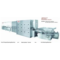 Liquid / Powder Vial Injection Production Line