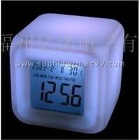 Cube LCD Timepiece (EN6099A)