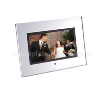 "7"" Digital Photo Frame w/ Designer Mirror Frame"