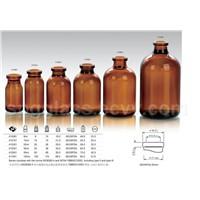 amber moulded glass vial type II,III