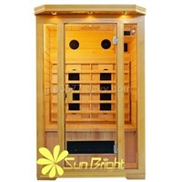 sunbright sauna(far infrared sauna room)with CE certificate