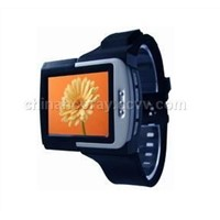 MP4 Watch Player 2GB 1.8inch TFT LCD Screen