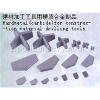tungsten carbide drill tips and saw tips