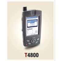 Tricubes - T4800 Handheld With Integrated Barcode Scanner