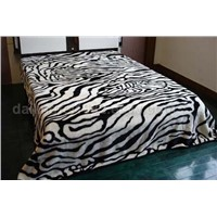 mink blanket,acrylic and raschel,