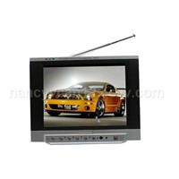 Dvb-t Receiver, Analog TV Receiver, 8.0 Inch Tft Lcd Screen