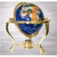 Sell Gemstone Globe, Home Decoration, World Gemstone,Gifts and Crafts