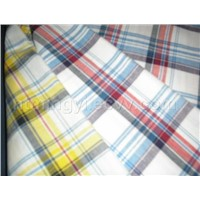 100% Cotton Yarn Dyed Checked Fabric