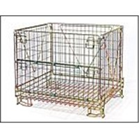 stacking wire container