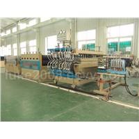 pp hollow profile sheet production line