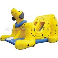 Fleck dog  slide