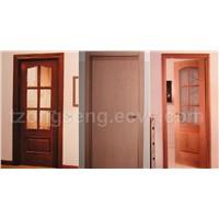 Wooden Solid Door, Plywood Door, Door And Window Frame