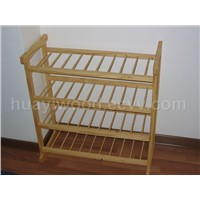 Wooden Rack, Display Rack, Shoe Rack
