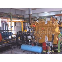 Gas engine drive CNG compressor