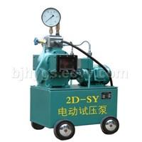 Model 2D-SY (6.3-80 Mpa) electric hydraulic test pump