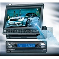Car DVD with 7 inch motorized touch screen and TV/AM/FM/USB/Bluetooth
