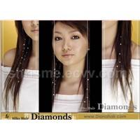 Crystals(Swarovski)hair extensions