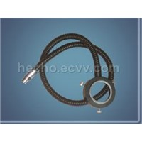 ring fibre optic light guides for microscope