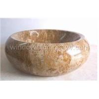 Stone Round Sink & Basin