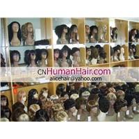 synthetic wig,human hair wig,human hair