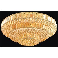 hotel crystal lamp