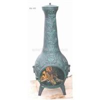 cast iron chimeneas