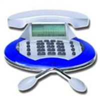 Multifunction small angel telephone
