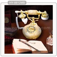 Marble Antique Phone(HY-8812MB)