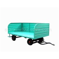 1.5t Three-rail Bulk Cargo Trailer