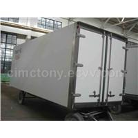 Insulated van body