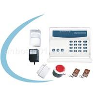 wireless & wired burglar alarm