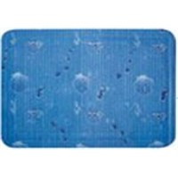 PVC mat with suction cups