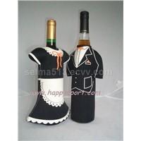 Neoprene Wine Bottle Cooler Bag