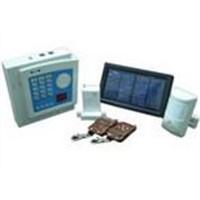 Solar-energy  burglar alarm system