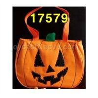 Fiber Optic Halloween Tote Bags