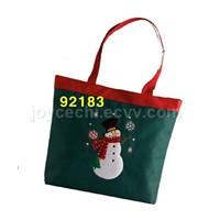 Fiber Optic Christmas Tote Bags