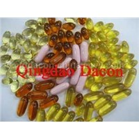 fish oil softgel capsule/lecithin capsule
